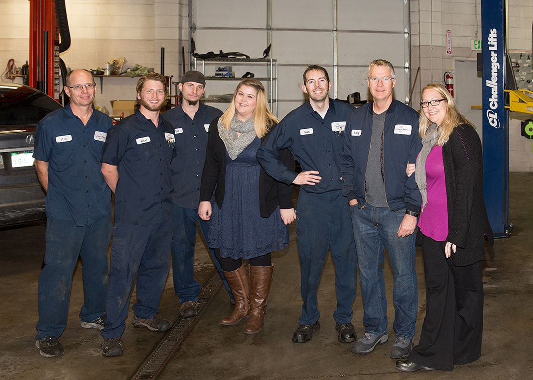 Meet our team | Davis Repair